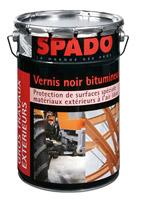 Acheter Spado vernis noir bitumineux fut de 200L