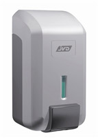 Acheter Distributeur savon gel JVD Cleanline gris