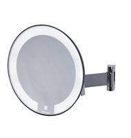 Acheter Miroir grossissant lumineux rond JVD cosmos chromé bras plat