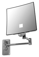 Acheter Miroir grossissant lumineux Eclips carré JVD