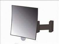 Acheter Miroir grossissant simple noir Eclips carré JVD
