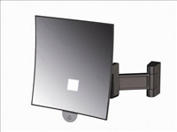 Acheter Miroir grossissant lumineux Eclips carré JVD noir