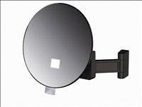 Acheter Miroir grossissant lumineux Eclips rond JVD plastique noir