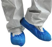 Acheter Surchaussure jetable polyéthylène bleu paquet de 100