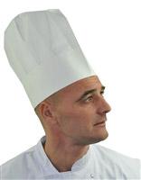 Acheter Toque de cuisinier papier plissée les10