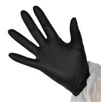 Acheter Gant nitrile noir jetable non poudre par 100