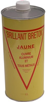 Acheter Brillant breton jaune nettoyant cuivres bidon de 1 L