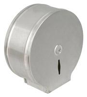 Acheter Distributeur papier toilette inox brosse mini jumbo
