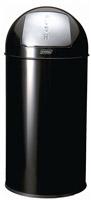 Acheter Poubelle 40L JVD noir avec trappe