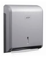 Acheter Distributeur d'essuie-mains gris métal ABS JVD