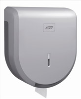 Acheter Distributeur papier toilette jumbo gris métal ABS  JVD