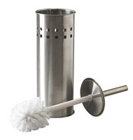 Acheter Balayette wc inox brossé JVD à poser avec support