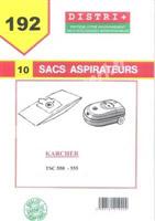 Acheter Sac aspirateur Karcher TSC 550-555