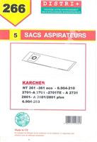 Acheter Sac aspirateur Karcher NT351 NT360ECO/ 36136BS/ ECONT6612701/ 2721
