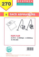 Acheter Sac aspirateur Karcher A2003 A2004 A2024PT A2025 205ME WD2200/99