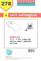Acheter Sac aspirateur Karcher BV5/1 DORSAL T5/1 T7/1 T9/1 T10/1 6904316MF