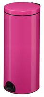 Acheter Poubelle à pédale métal 30L rose rossignol sanelia