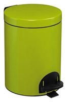 Acheter Poubelle à pédale Rossignol métal 5L sanelia vert anis