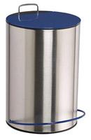 Acheter Poubelle a pedale 5 litres bleu marine