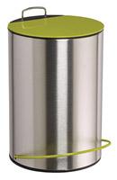 Acheter Poubelle a pedale 5 litres vert