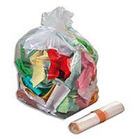 Acheter Sac poubelle 110 litres transparent colis de 100