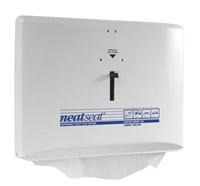 Acheter Distributeur couvre siege WC blanc Neat Seat Steiner