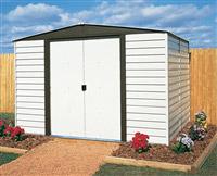 Acheter Abri de jardin Arrow VD106 acier galvanise peinture vinyle 5 m2
