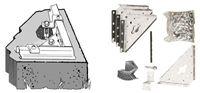 Acheter Kit d'ancrage abri de jardin Arrow pour sol béton
