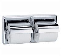 Acheter Distributeur de papier toilette inox 2 rouleaux