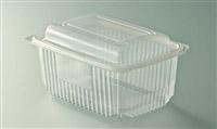 Acheter Barquette micro ondes à couvercle à charnière 1000 grs