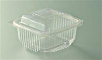 Acheter Barquette micro ondes à couvercle à charnière 250 grs