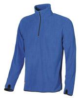 Acheter Pull micropolaire de travail bleu clair artic