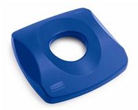 Acheter Couvercle container Rubbermaid Untouchable bleu