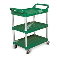 Acheter Chariot service hotellerie Rubbermaid vert