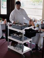Acheter Chariot service hotellerie Rubbermaid blanc