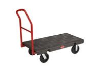 Acheter Chariot plate forme Rubbermaid haute resistance
