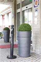 Acheter Cendrier exterieur Smoker's Pole Rubbermaid noir