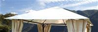 Acheter Toile ombrage tonnelle de jardin Atlas Constantinople ecru