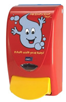 Acheter Distributeur de savon enfant Deb Proline Mr Soapy soap