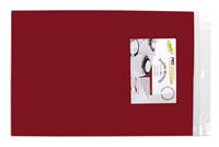 Acheter Nappe ronde jetable D240 bordeaux non tissé paquet de 12