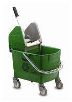 Acheter Chariot de menage Rubbermaid combo bravo 25 L vert avec presse