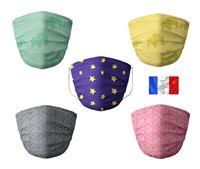 Acheter Masque Barral lavable enfant lot de 5 assortis