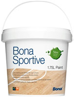 Acheter Peinture sol gymnase parquet Bona paint blanc 1,75 L