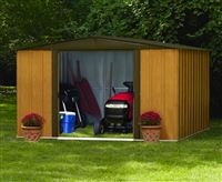 Acheter Abri de jardin metal Arrow WL1010 acier galvanisé 8,50 m2