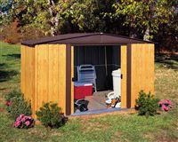 Acheter Abri de jardin Arrow WL108 en acier galvanisé 6,9 m2