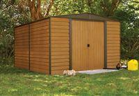 Acheter Abri de jardin Arrow WR1012 acier galvanisé 10.7m2 imitation bois