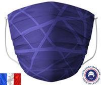 Acheter Masque lavable Barral bleu zig zag