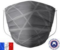 Acheter Masque lavable Barral gris zig zag