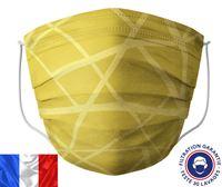 Acheter Masque lavable Barral jaune zig zag