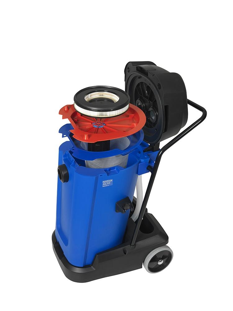 aspirateur eau et poussi res nilfisk alto maxxi 75 2 wd 75 l. Black Bedroom Furniture Sets. Home Design Ideas